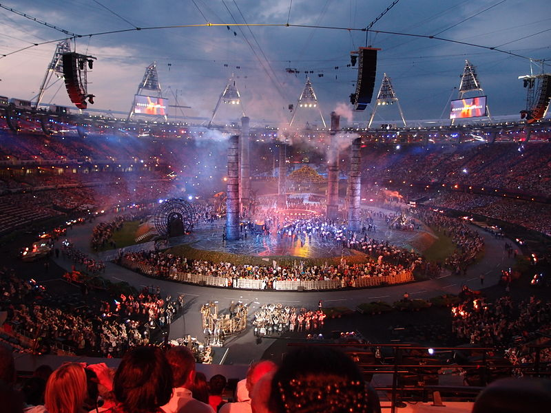 The Olympics Opening Ceremony